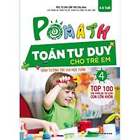 POMath-Toán tư duy cho trẻ em tập 4-Sách học toán tư duy toán- Toán tư duy cho trẻ em từ 4 – 6 tuổi-Mcbooks