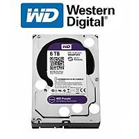 Ổ Cứng HDD Western Digital Purple 6TB 3.5 inch Sata 3 - Hàng Nhập Khẩu