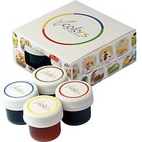 Màu thực phẩm VCOLORS hộp 4 màu