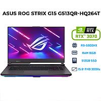 Laptop Asus ROG Strix G15 G513QR-HQ264T (AMD R9-5900HX/ 16GB (8x2) DDR4 3200MHz/ 512GB SSD PCIE G3X4/ RTX 3070 8GB GDDR6/ 15.6 FHD, IPS Non-Glare, 300Hz/3ms/ Win10) - Hàng Chính Hãng