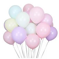 Set 20 bong bóng màu macaron 12inch lung linh trang trí phòng cho bé  – PA011