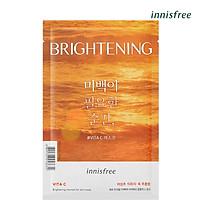 Mặt nạ dưỡng sáng da innisfree Brightening Moment For Skin Mask (VITA C) 25ml - 131173440x