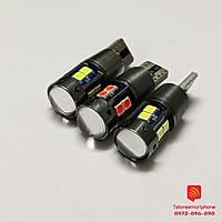 LED T10 CHIP CREE 3030 10SMD cho ô tô xe máy