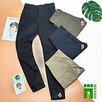 Quần kaki nam, form như quần jean size từ 45kg đến gần 80kg, chất kaki - NH Shop