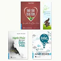 Combo 3 cuốn sách của Ajahn Brahm: Buông Bỏ Buồn Buông, Mở Cửa Trái Tim, Hạnh Phúc Đến Từ Sự Biến Mất  (Tặng kèm bookmark danh ngôn hình voi)
