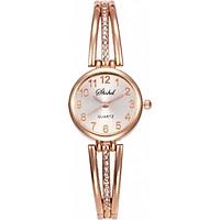 Đồng hồ nữ dây đeo hợp kim đính đá cực sành điệu thời thượng ZO52