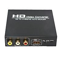 HD to CVBS RCA HD Converter 1080P PAL NTSC HDCP Protocol AV Composite Video Audio Adapter CVBS AV Converter for HD TV
