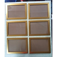 Khung hình A4 (6 cái khung a4) có nhiều màu để chọn