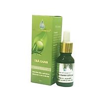 Serum dưỡng trắng - Ngừa nhăn da - Ngừa lão hóa - Se khít lỗ chân lông - Nhật Việt Trà xanh 15ml