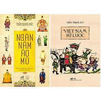 Combo 2 Cuốn Ngàn Năm Áo Mũ (Tái Bản) + Việt Nam Sử Lược (Tb)