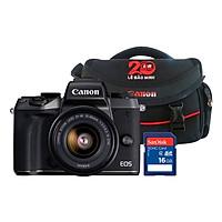 Máy Ảnh Mirrorless Canon EOS M5 + Lens 15-45mm (Tặng Kèm Thẻ Nhớ Và Túi Đựng Máy Ảnh) - Hàng Chính Hãng