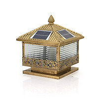 Đèn trụ cổng năng lượng mặt trời SUNTEK TC02 - Hàng chính hãng