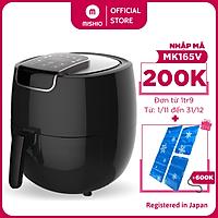 Nồi chiên không dầu điện tử Mishio MK165 5.5L - Hàng chính hãng