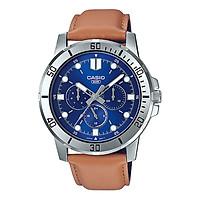 Đồng hồ nam dây da Casio Standard chính hãng MTP-VD300L-2EUDF
