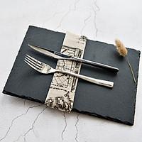 Bộ dụng cụ bàn ăn dao thìa nĩa Inox 304 DandiHome cao cấp