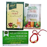 Thực phẩm chức năng Trà Thảo mộc Giảm cân Hera Plus (30 viên) + Tặng Kèm Vòng Phong Thủy Cực Chất
