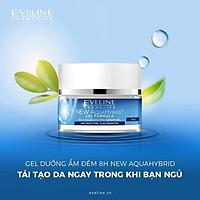 Gel dưỡng ẩm đêm 8h Aquahibrid Eveline 50ml