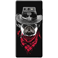 Ốp Lưng Dành Cho Điện Thoại Samsung Galaxy Note 9 Chó Đội Nón