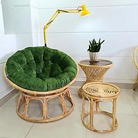 Ghế papasan (size 1m) + đôn ghế