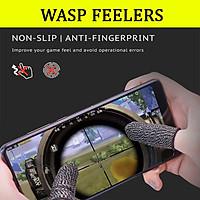 Bao tay chơi game cảm ứng Wasp Feelers găng tay chống mồ hôi, chống trượt - 1 ngón lẻ no box