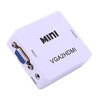 Bộ chuyển đổi tín hiệu từ VGA sang HDMI VGA to HDMI converter mini