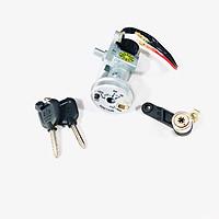 Bộ ổ khoá xe máy Exciter 150 (8 cạnh) + khóa yên