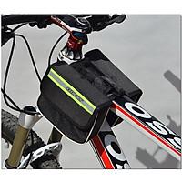 Túi đeo sườn xe đạp mầu đen