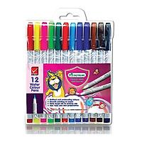 Bút Màu Nước Masterart 12 Màu