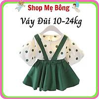 Váy Đũi Chấm Bi Hè Bé Gái VB1905 – Shop Mẹ Bông 92
