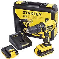 Máy khoan vặn vít động lực dùng pin Stanley SCH20C2K-B1