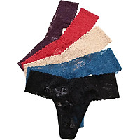 Combo 5 Quần lót lọt khe ren sexy, quần lót nữ ZQ6214 (Màu ngẫu nhiên)