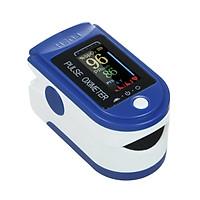 Máy đo oxy đầu ngón tay và nhiệt kế có màn hình kỹ thuật số độ chính xác cao Portable Fingertip Clip Pulse Oximeter for SpO2