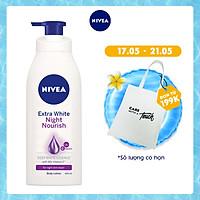 Sữa Dưỡng Thể Trắng Da Nivea Ban Đêm 400ml - 88126