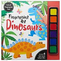 Fingerprint Art Dinosaurs