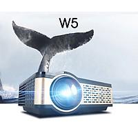 Máy Chiếu Thế Hệ Mới W5 Projector Mini Hỗ Trợ Độ Phân Giải 1080P Độ Sáng 4000Lumens Kết Nối Bluetooth 4.0, Wifi,USB/HDMI * 2/AV/VGA/SD