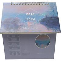 Lịch Để Bàn Sáng Tạo Đa Năng Hình Ngôi Nhà 2020 - Claude Monet