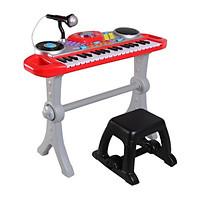 Đàn organ đồ chơi trẻ em có mic và ghế ngồi 2068-X hiệu Winfun