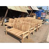 Ghế băng sofa gỗ ngoài trời