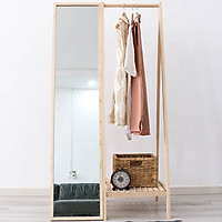 ComBo Gương Và Giá Treo Chữ A Mirror Hanger Nội Thất Kiểu Hàn BEYOURs