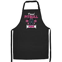 Tạp Dề Làm Bếp In họa tiết Mẹ Pitbull