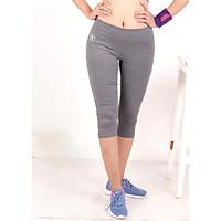 Quần lửng legging thể thao nữ cao cấp xám QL01