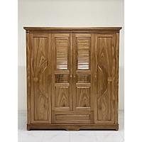 Tủ quần áo gỗ Hương xám CCC12
