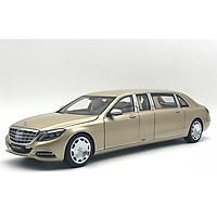 Xe Mô Hình Mercedes-Maybach S 600 Pullman Mh 1:18 Autoart - 76298 (Vàng)