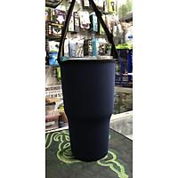 Túi xách cho ly giữ nhiệt 900ml-màu xanh đậm không hình