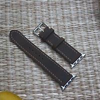 Dây Đeo Cho Apple Watch -  Da Bò sáp ngựa điên Handmade đủ size 38/40/42/44mm