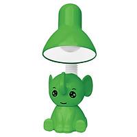 Đèn bàn bảo vệ thị lực Điện Quang ĐQ DKL18 G B (kiểu con voi, xanh lá, bóng led daylight)