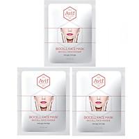 Combo 3 mặt nạ Avif biocell dưỡng da giảm lão hóa - Avif biocell anti-age face mask