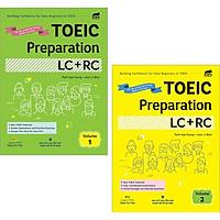 Combo Toeic Preparation LC+RC - Volume 1&2