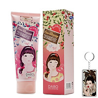 Sữa rửa mặt dưỡng ẩm Dabo Acerola Hàn Quốc 150ml Tặng Móc khoá