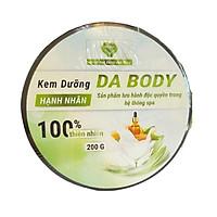 KEM DƯỠNG BODY HẠNH NHÂN MẸ KEN 200ML - hạnh nhân spa MẸ KEN, dưỡng ẩm, trắng body